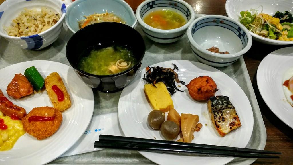FORZAホテルフォルツァ長崎朝食バイキング