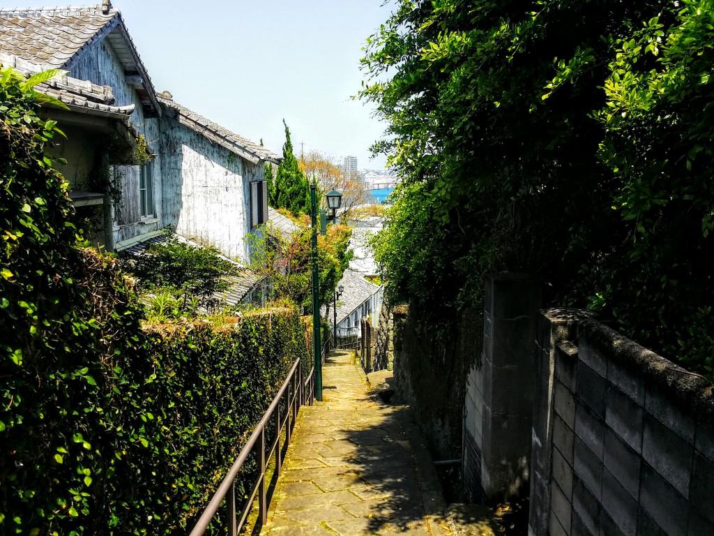 長崎狭い坂道