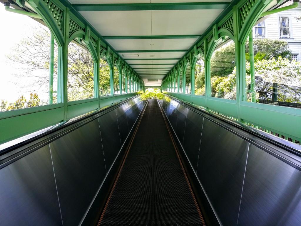 グラバー園エスカレーター