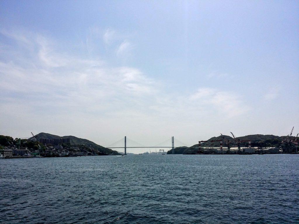 長崎水辺の森海岸沿い