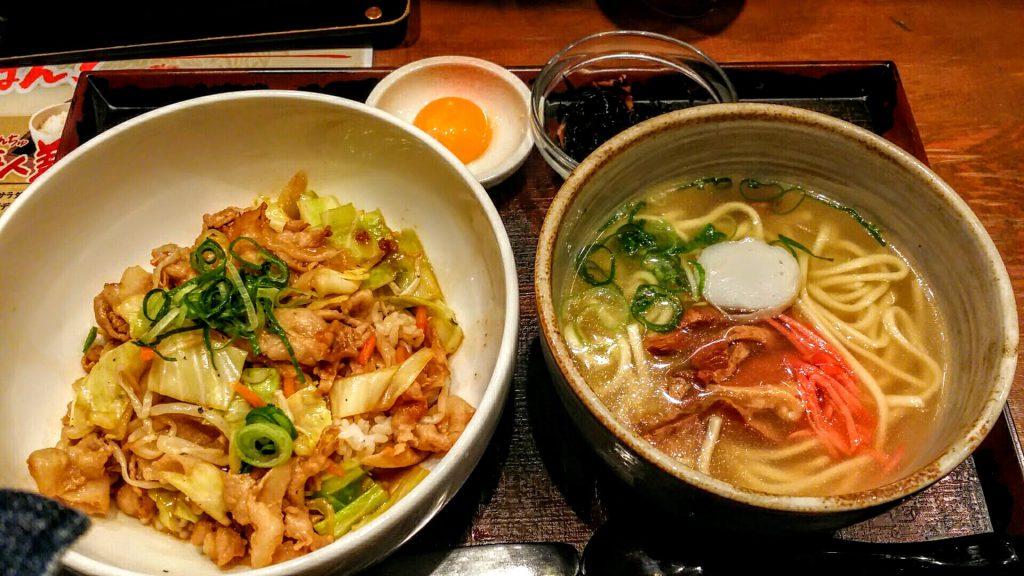 大阪梅田沖縄料理島ぬ風スタ丼