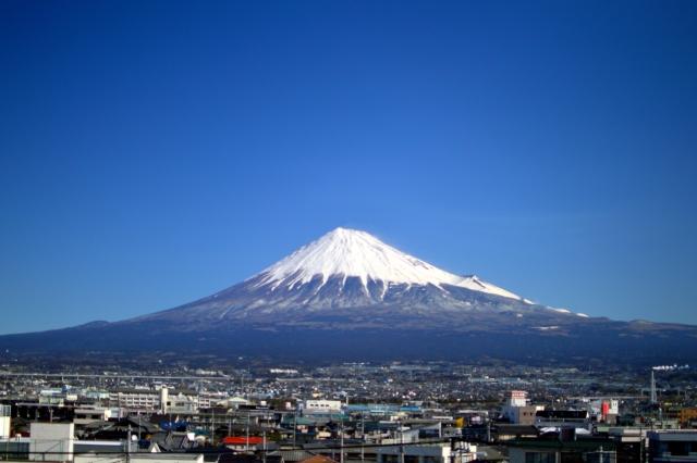 免許合宿一人富士山