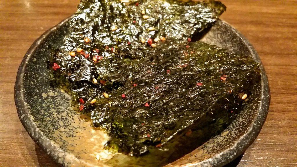 島屋」大盛り焼肉定食ランチ韓国のり