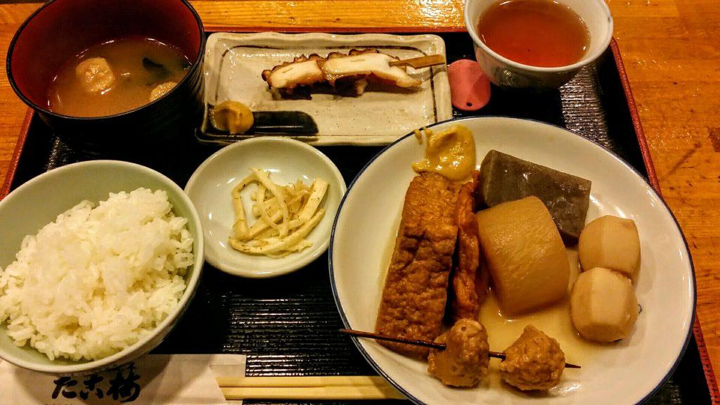 大阪梅田「たこ梅北店」たこ梅定食