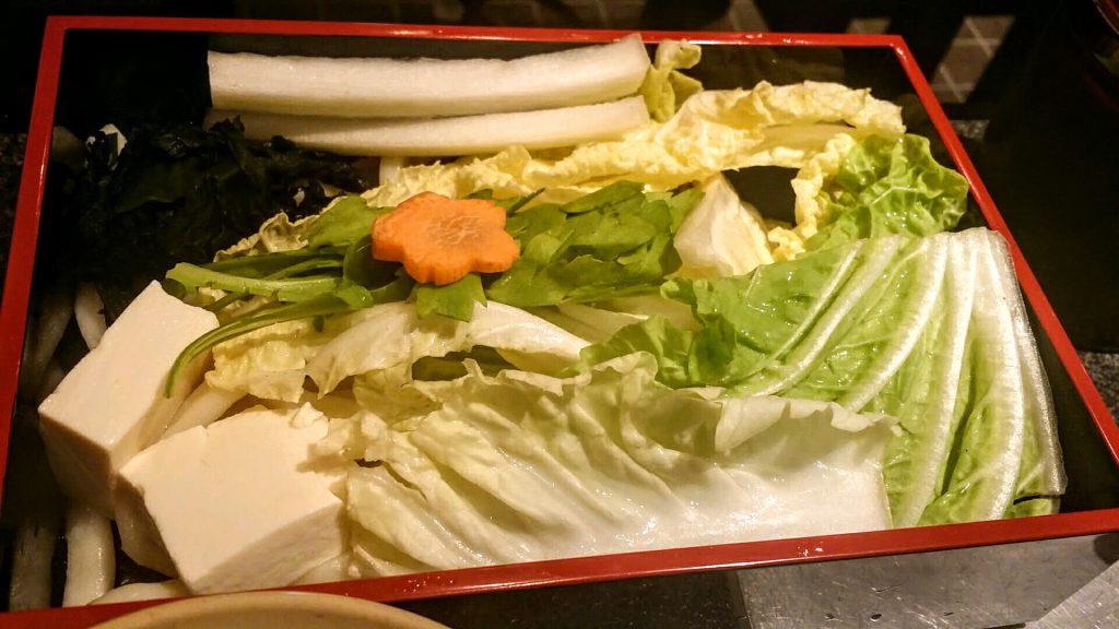 しゃぶ亭西梅田野菜