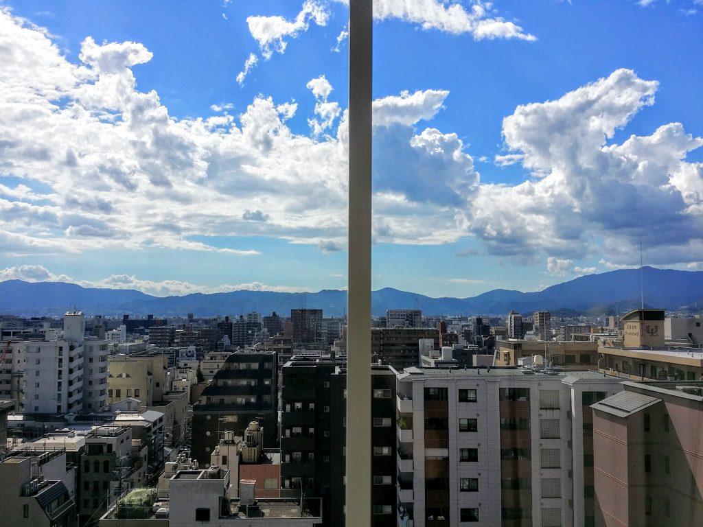 ホテルモントレ京都スーペリアシングル11階景色