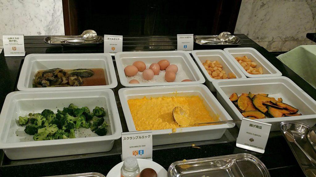 ホテルモントレ京都朝食g