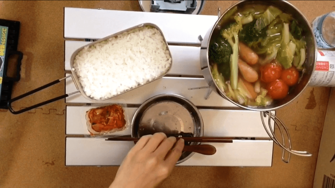 ご飯とポトフ