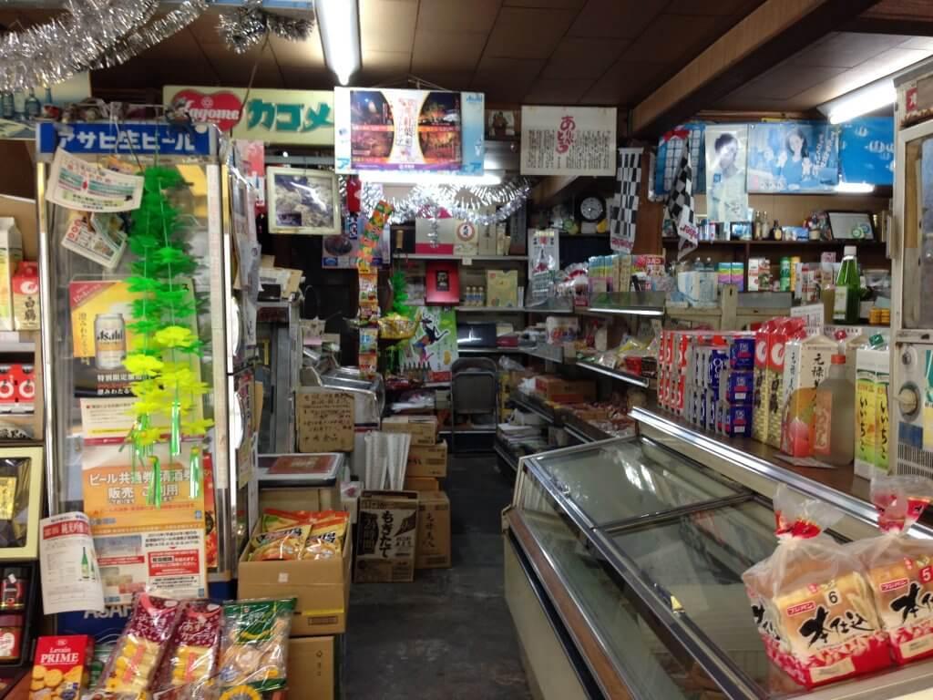 笠置町の商店